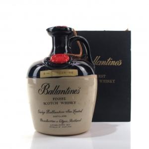 Ballantine's Finest Scotch Whisky Decanter 1970s / Japanese Import