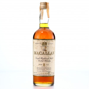 Macallan 8 Year Old Campbell, Hope and King early 1970s / Rinaldi Import
