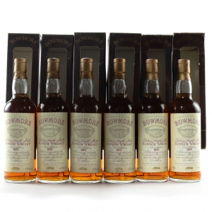 Bowmore 1973 Oddbins Exclusive / 6 x 75cl with Original Case