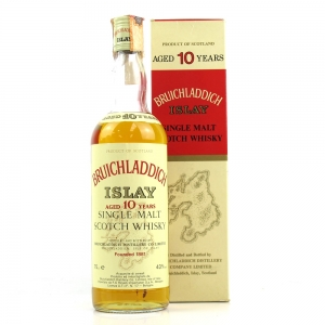Bruichladdich 10 Year Old 1980's