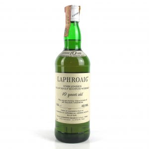 Laphroaig 10 Year Old 1970s/80s Cinzano Import