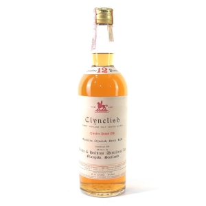 Clynelish 12 Year Old Ainslie and Heilbron Circa 1970s / Di Chiano Import