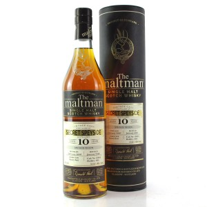 Secret Speyside 2007 Maltman 10 Year Old / Macallan
