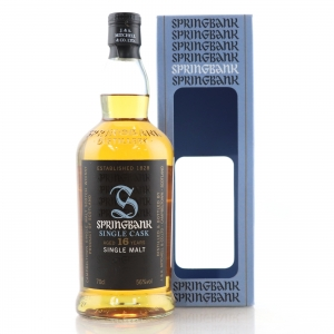 Springbank 1997 Single Cask 16 Year Old / UK Exclusive