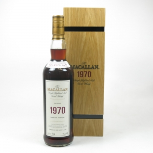 Macallan 1970 Fine and Rare Front