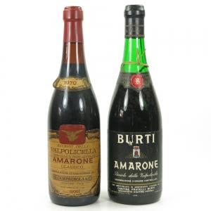 Burti Amarone 1967 / G. Campagnola Amarone 1970 2 x 72cl
