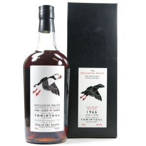 Tomintoul 1966 Exclusive Malts 44 Year Old