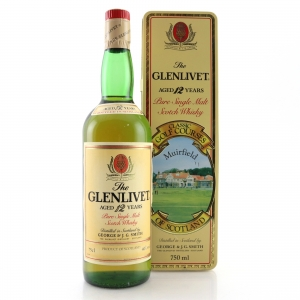Glenlivet 12 Year Old Muirfield Classic Golf Courses 75cl