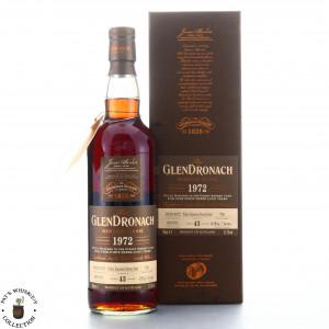 Glendronach 1972 Single PX Cask 43 Year Old #706