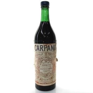 Carpano Sweet Vermouth 1 Lite 1940s