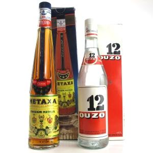 Miscellaneous Greek Spirit Selection 2 x 70cl