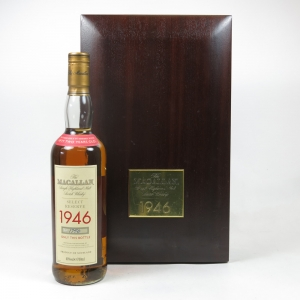 Macallan 1946 Select Reserve 52 Year Old Front