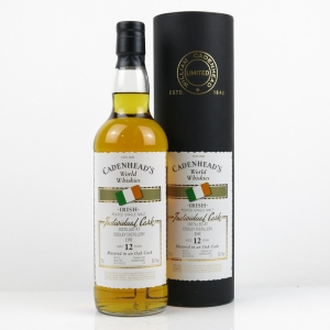 Cooley Peated Cadenhead 12 Year Old