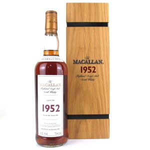 Macallan 1952 Fine and Rare 49 Year Old