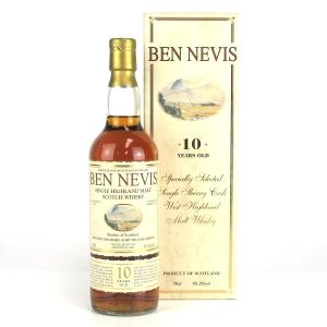 Ben Nevis 1992 Single Sherry Butt 10 Year Old