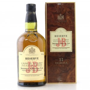 J&B Reserve 15 Year Old 1980s