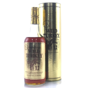 Wild Turkey 12 Year Old 101 Proof Limited Edition 1980s