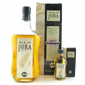 Jura 10 Year Old 1990s / with Miniature 5cl