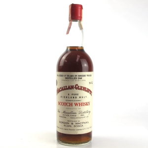 Macallan 1940 Gordon and MacPhail 37 Year Old / Pinerolo Import