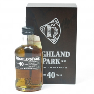Highland Park 40 Year Old 5cl Miniature Front