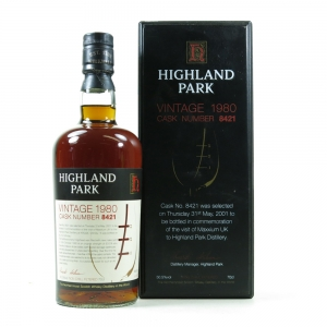 Highland Park 1980 Single Cask #8421