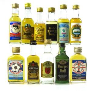 Miscellaneous Whisky Miniatures x 11