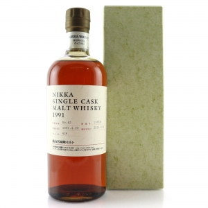 Nikka 1991 Single Cask 19 Year Old #116835