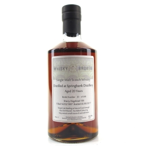 Springbank 1997 Whisky Broker 20 Year Old