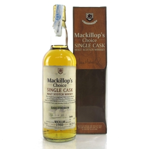 Macallan 1980 Mackillop's Choice 20 Year Old