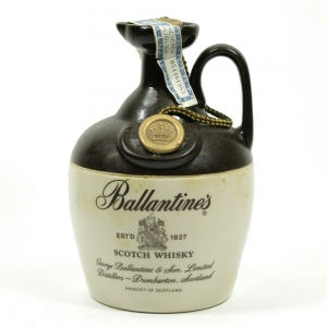Ballantine's Stoneware decanter 1980s