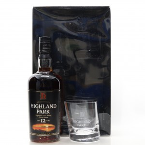Highland Park 12 Year Old Gift Pack / including Glass