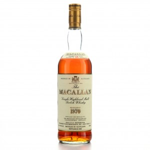 Macallan 1970 18 Year Old / Premiere Wine Merchants Import, US