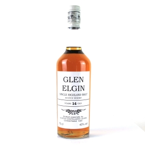Glen Elgin 14 Year Old Christmas 1990