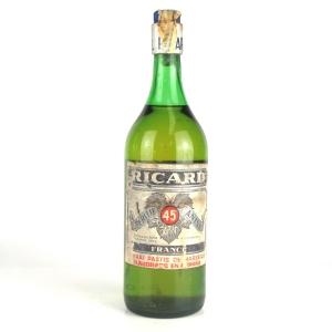 Ricard Pastis 1 Litre 1970s