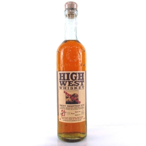 High West 21 Year Old Rocky Mountain Rye