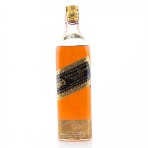 Johnnie Walker Black Label 12 Year Old 1936-45 / US Import