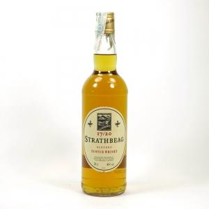 Strathbeag 17/20 Blended Scotch Whisky Front