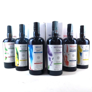 Velier 70th Anniversary Warren Khong Series Rum 6 x 70cl