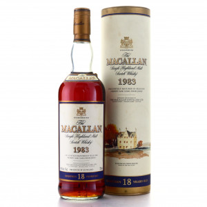 Macallan 1983 18 Year Old 75cl / US Import