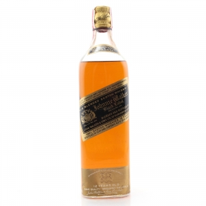 Johnnie Walker Black Label 12 Year Old 1930s / US Import