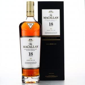 Macallan 18 Year Old Sherry Oak 2019 Release