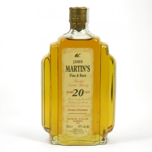 James Martin 20 Year Old Fine and Rare Front