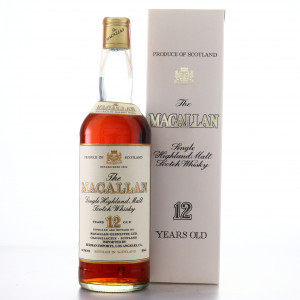 Macallan 12 Year Old 1980s / Berman Import, US