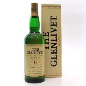Glenlivet 12 Year Old 75cl