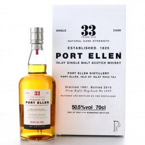 Port Ellen 1981 Single Cask 33 Year Old #1295