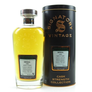 Imperial 1995 Signatory Vintage 21 Year Old / Cask Strength