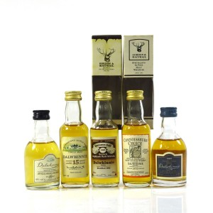 Dalwhinnie Miniature Selection x 5