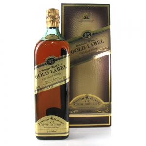 Johnnie Walker Gold Label 15 Year Old 75cl / 1990s Asia Exclusive