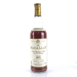 Macallan 1971 18 Year Old
