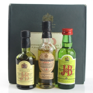 J&B Miniature Collection 3 x 5cl / Including Knockando 1974